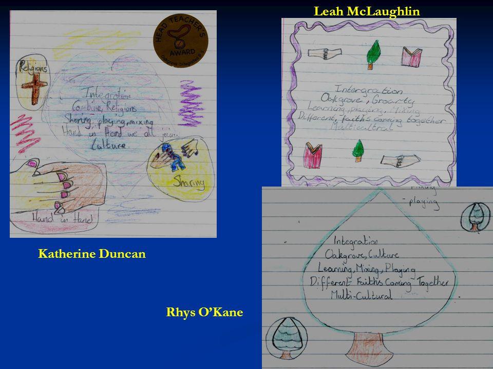 Leah McLaughlin Katherine Duncan Rhys O'Kane
