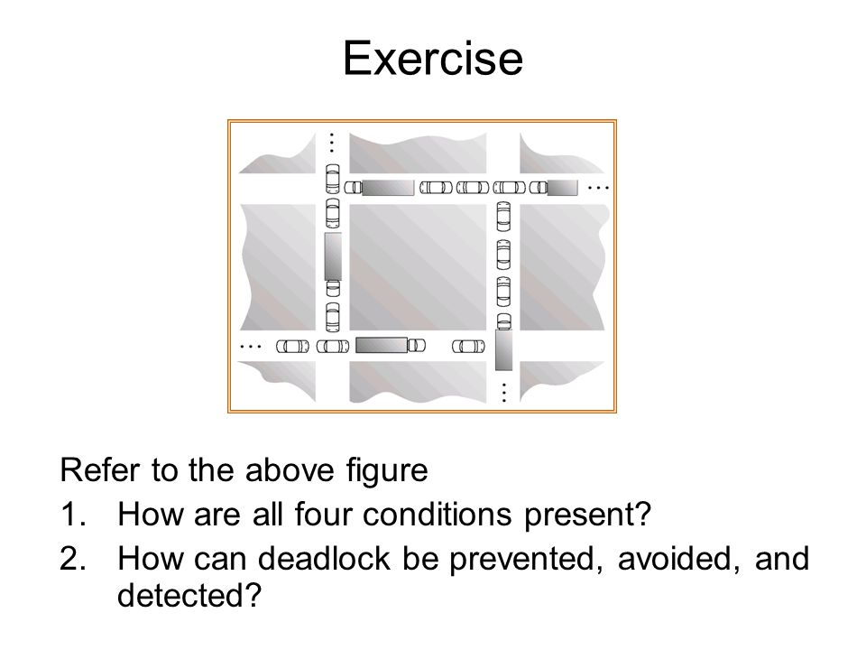 Exercise Refer to the above figure