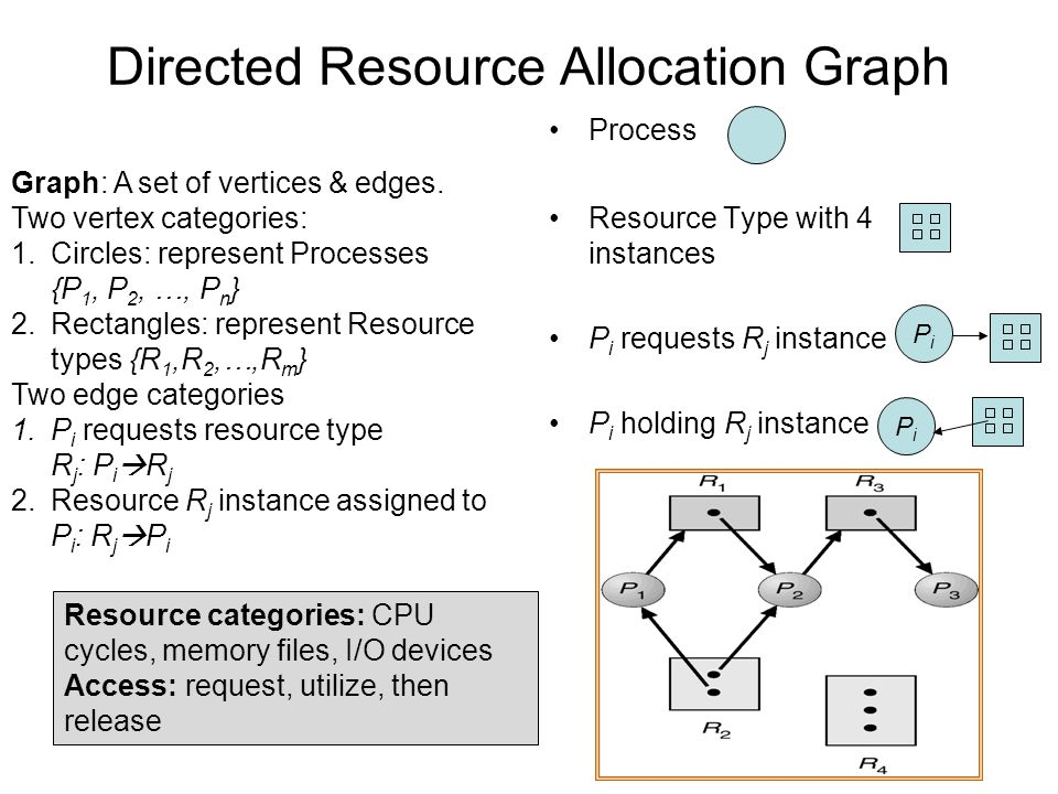 Directed Resource Allocation Graph