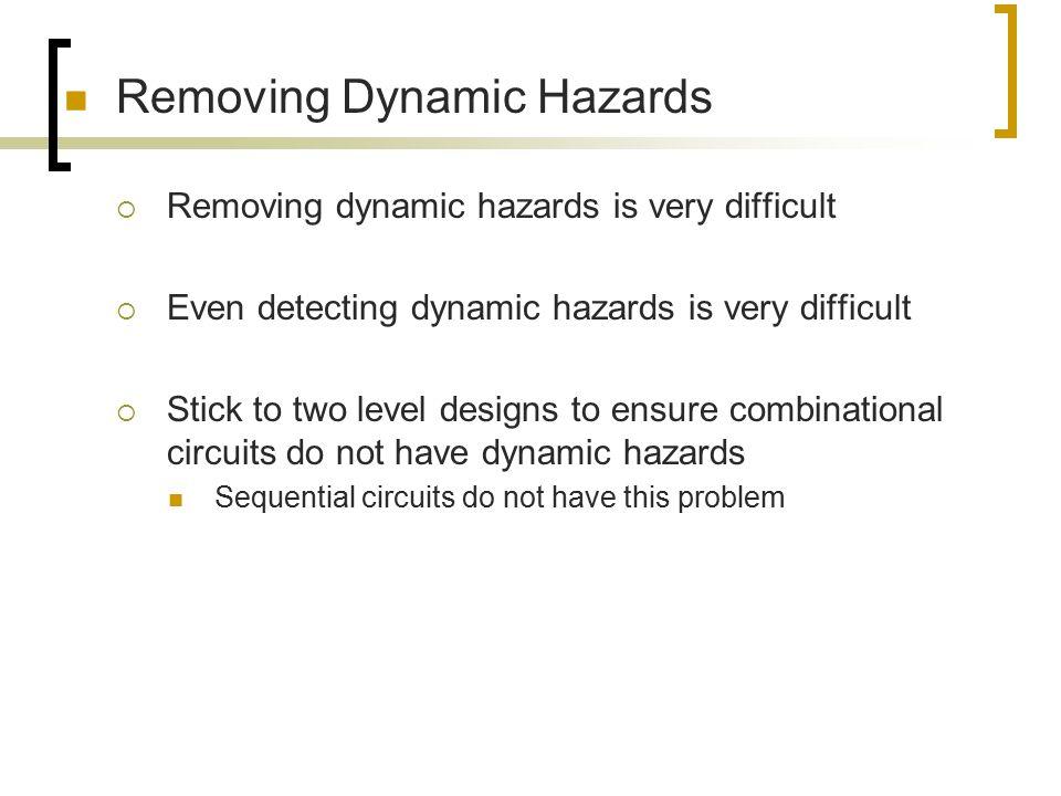 Removing Dynamic Hazards