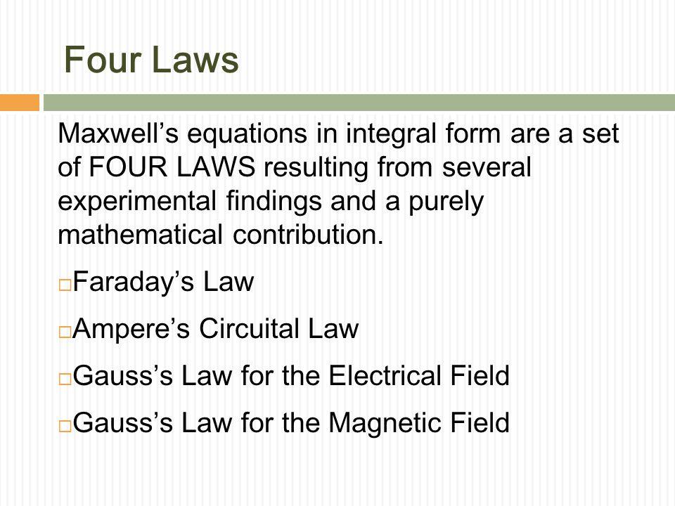 Four Laws