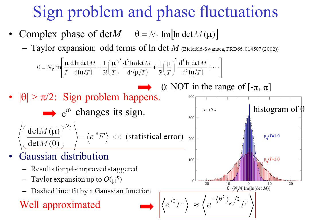 Sign problem and phase fluctuations