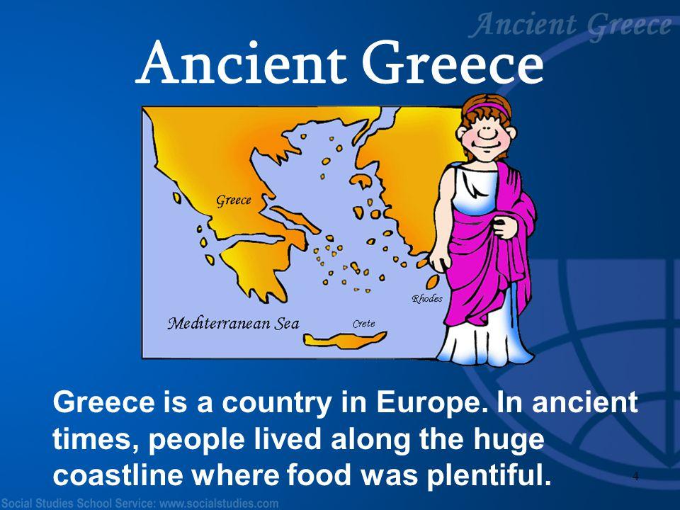 Ancient Greece Teacher Notes: