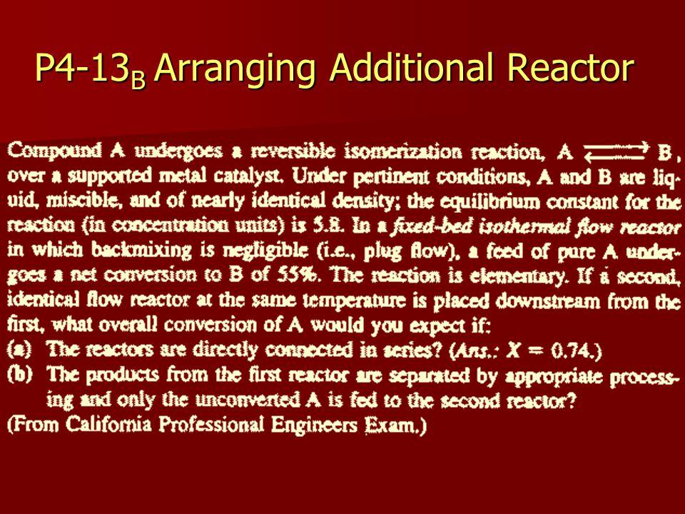 P4-13B Arranging Additional Reactor