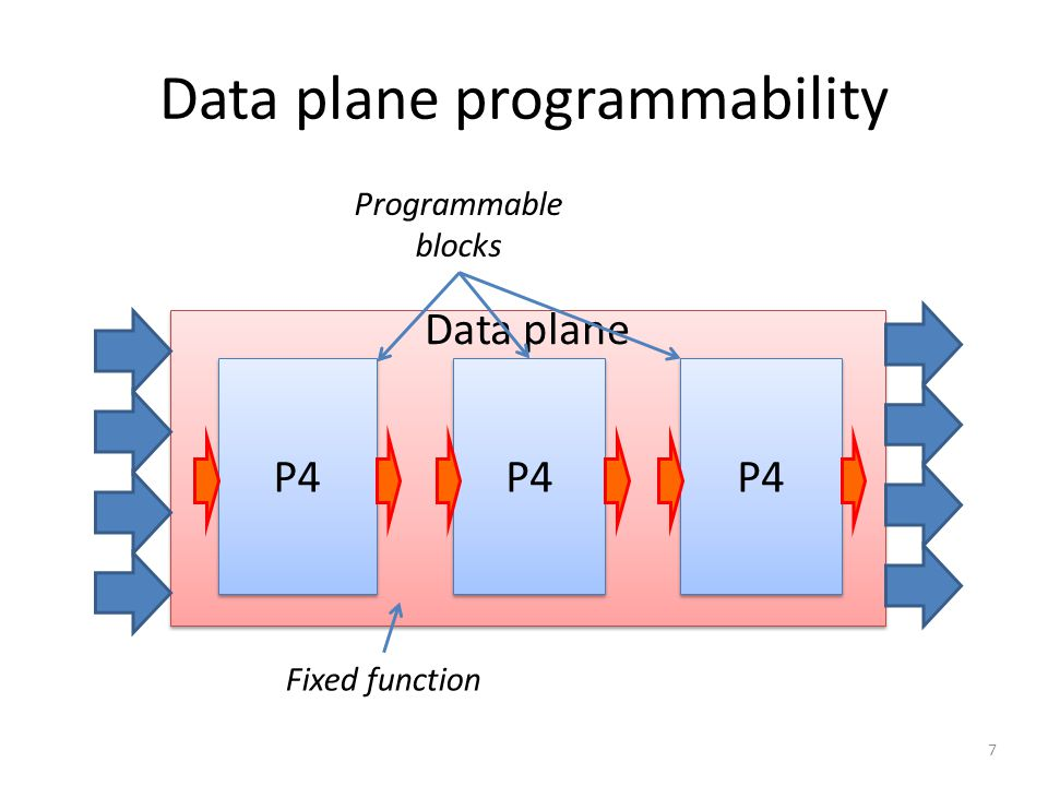 Data plane programmability