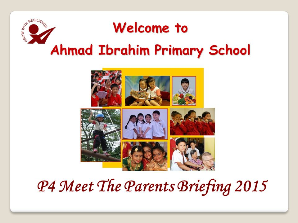 Welcome to Ahmad Ibrahim Primary School