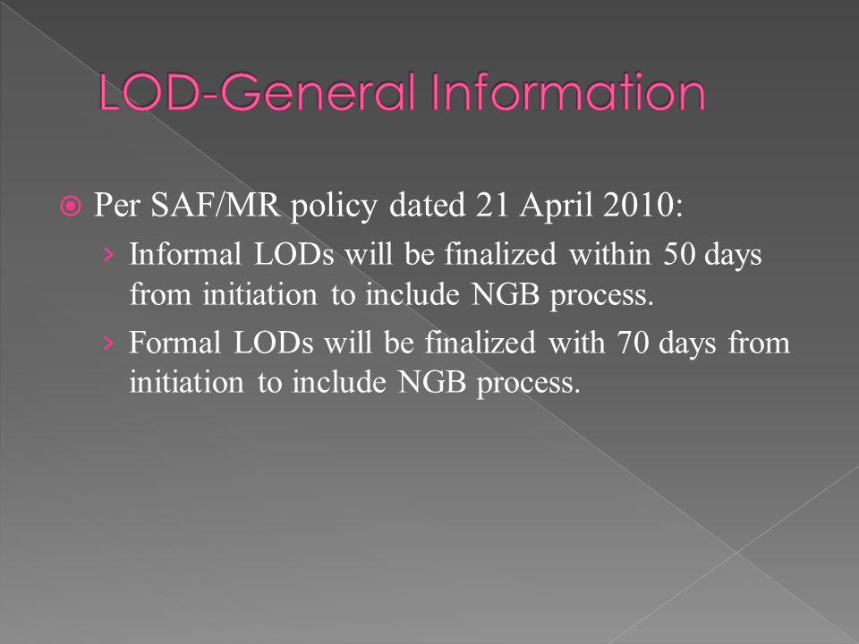 LOD-General Information