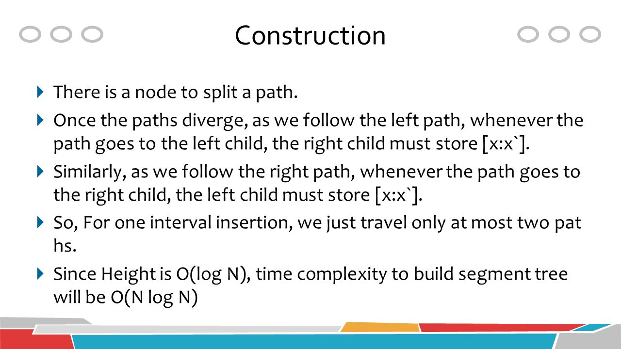 Construction There is a node to split a path.