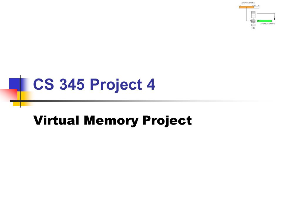 Virtual Memory Project
