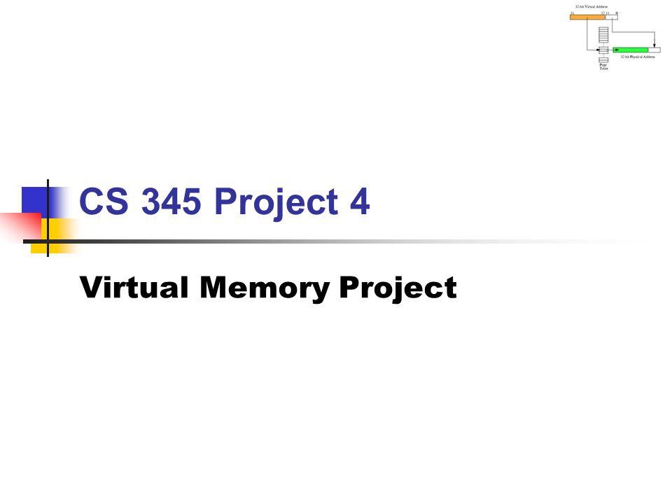 Virtual Memory Project
