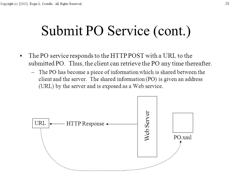 Submit PO Service (cont.)