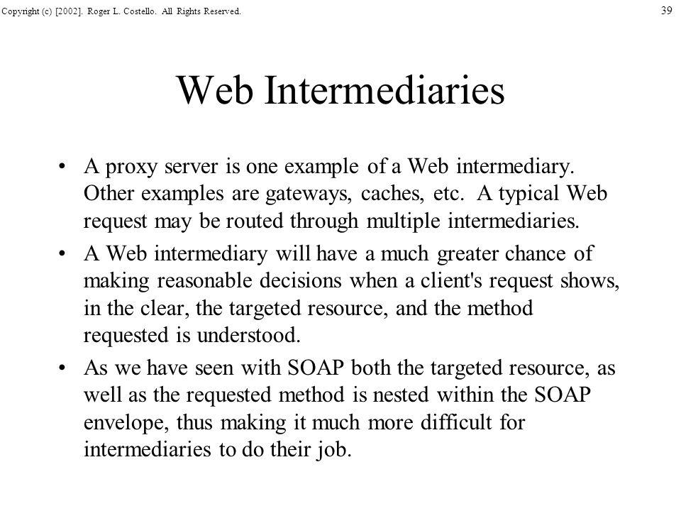 Web Intermediaries