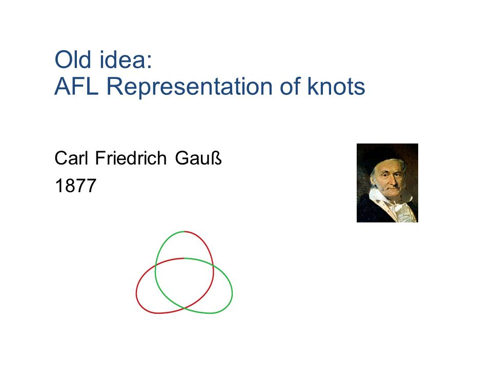 AFL Representation of knots