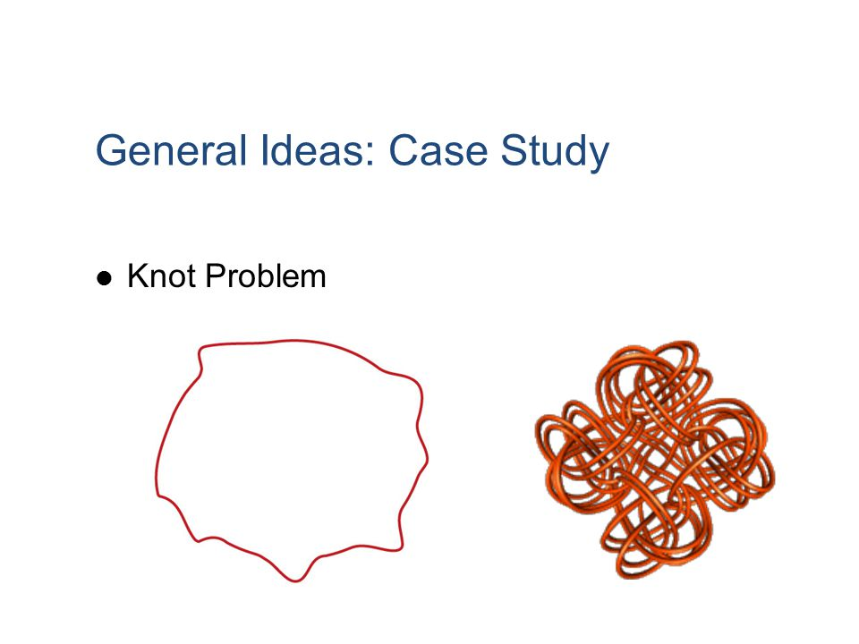 General Ideas: Case Study