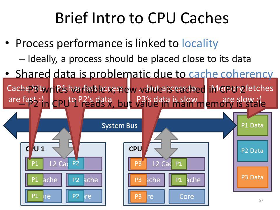 Brief Intro to CPU Caches
