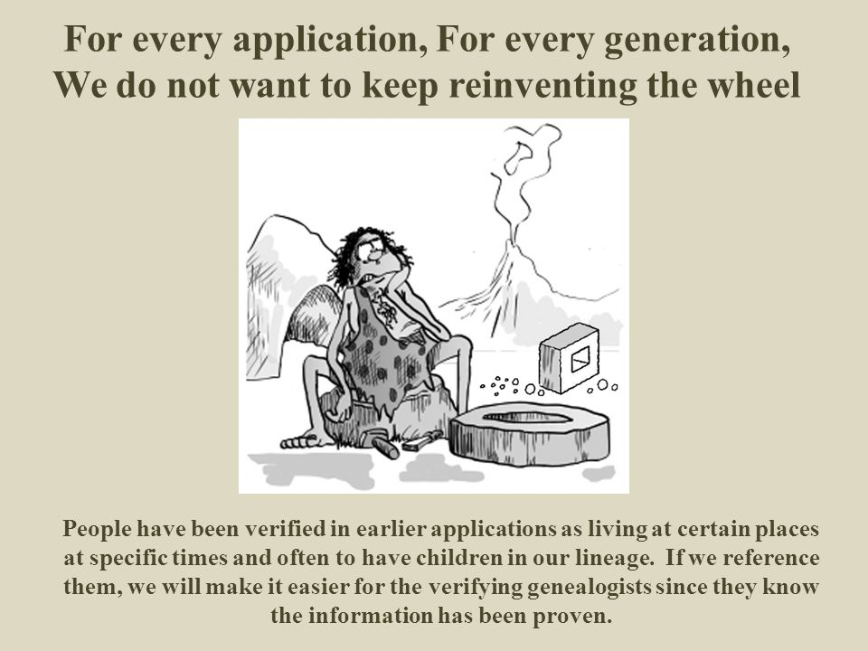 For every application, For every generation,
