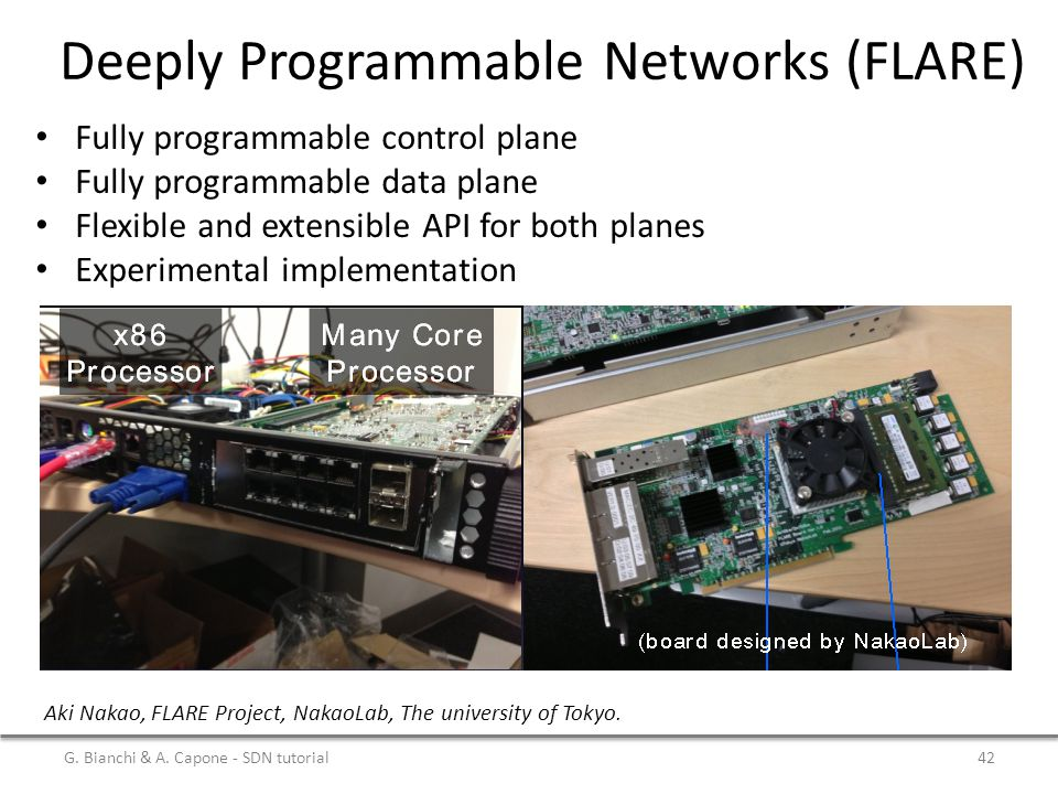 Deeply Programmable Networks (FLARE)