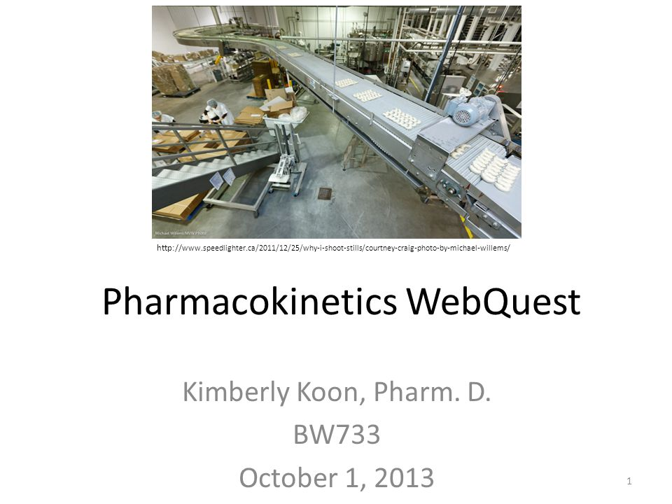 Pharmacokinetics WebQuest