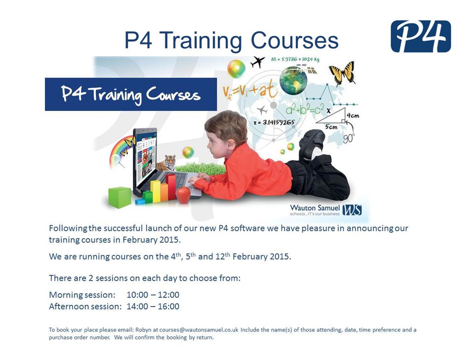 P4 Training Courses