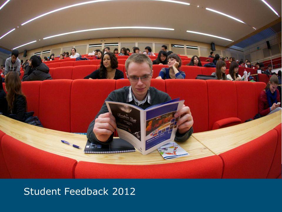 Student Feedback 2012