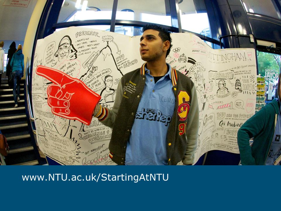 www.NTU.ac.uk/StartingAtNTU