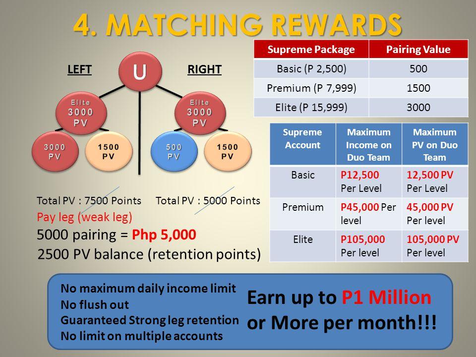 Maximum Income on Duo Team