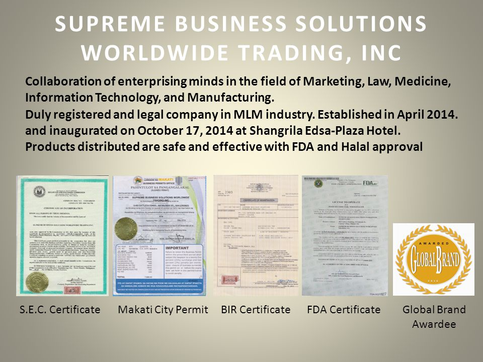 SUPREME BUSINESS SOLUTIONS