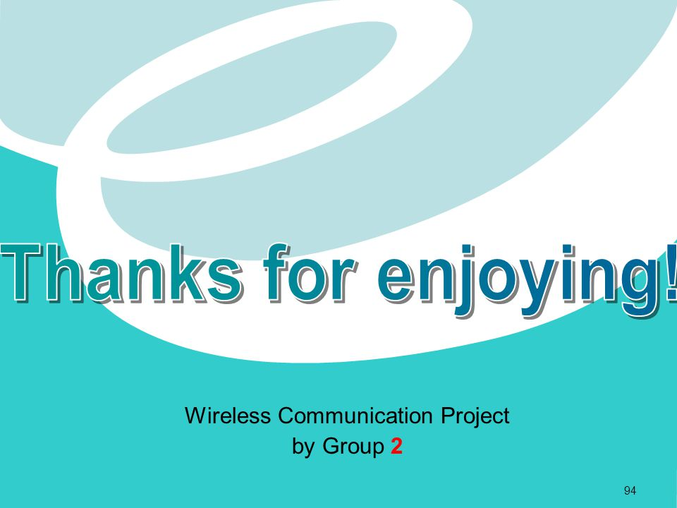 Wireless Communication Project by Group 2