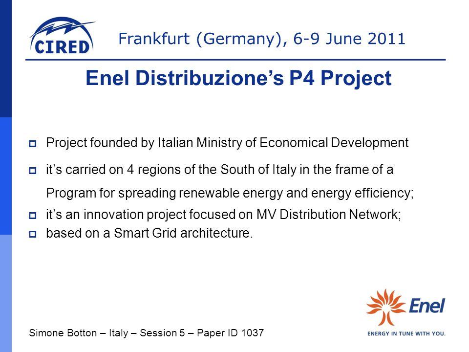 Enel Distribuzione's P4 Project