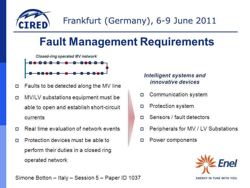 Fault Management Requirements