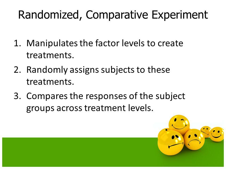 Randomized, Comparative Experiment