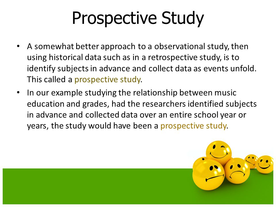 Prospective Study
