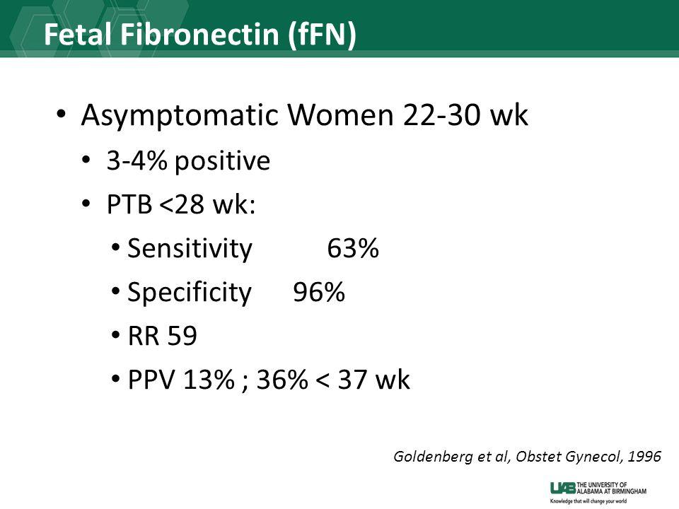 Fetal Fibronectin (fFN)