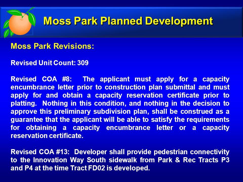 Moss Park Planned Development