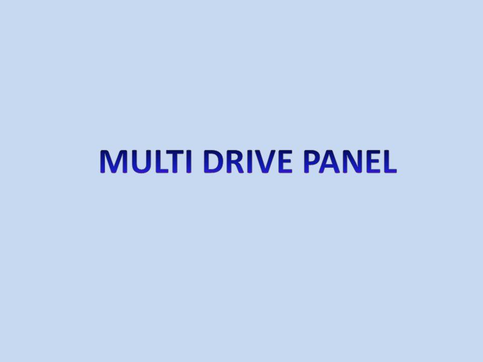 MULTI DRIVE PANEL