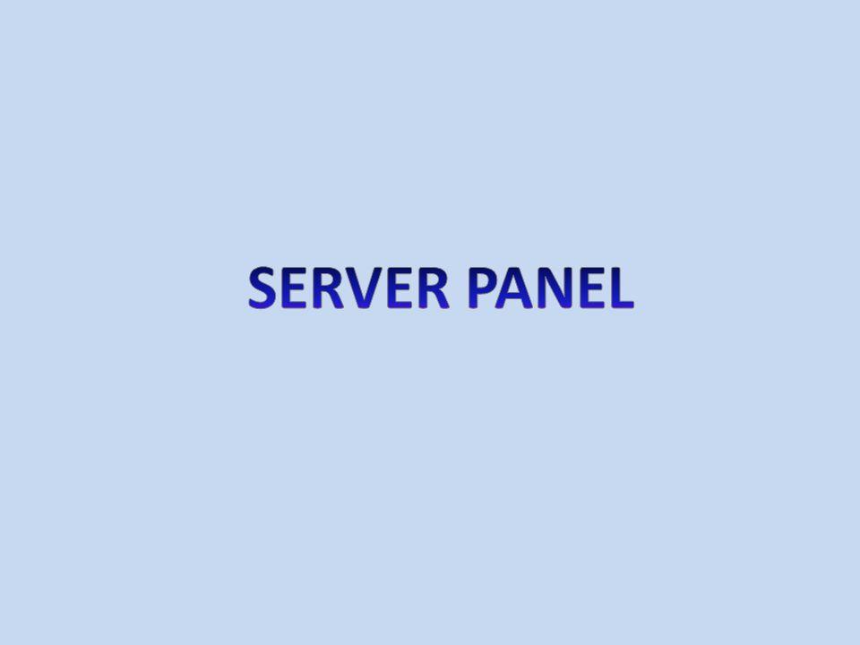 SERVER PANEL