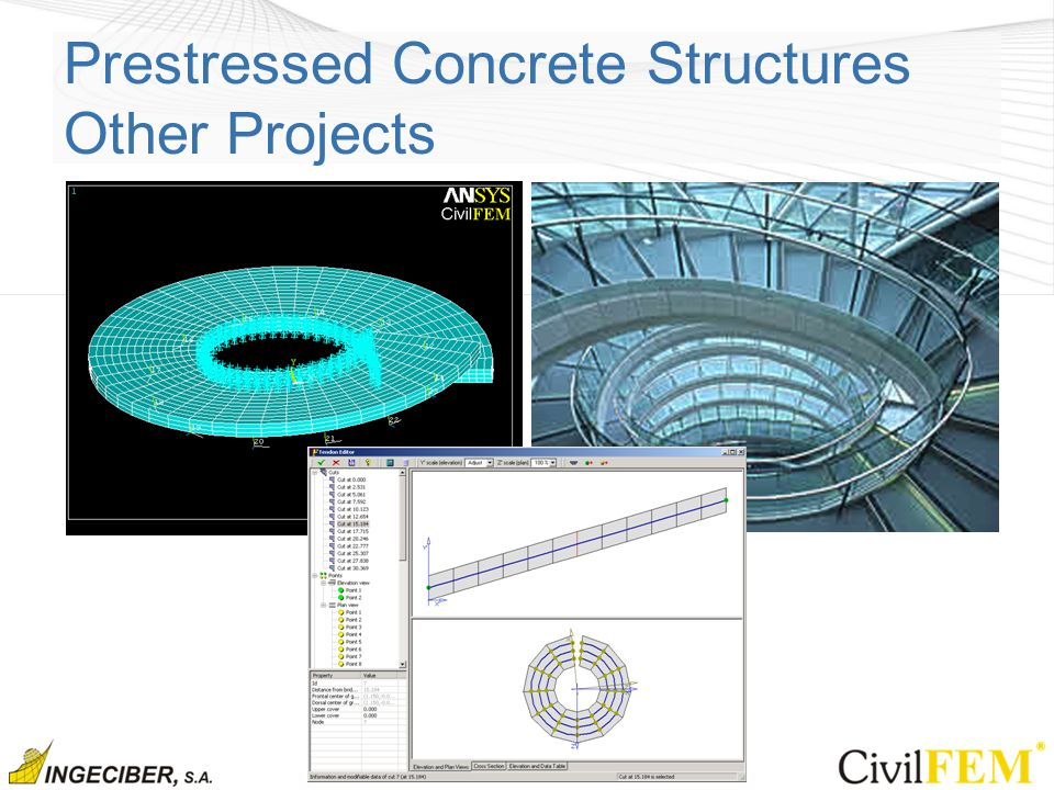Prestressed Concrete Structures Other Projects