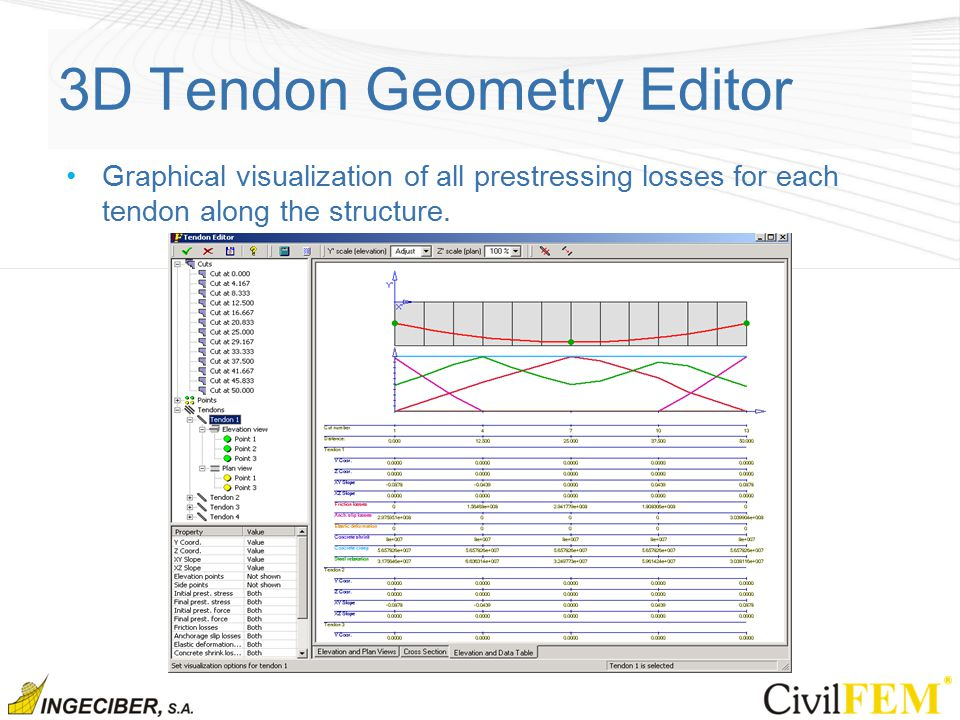 3D Tendon Geometry Editor
