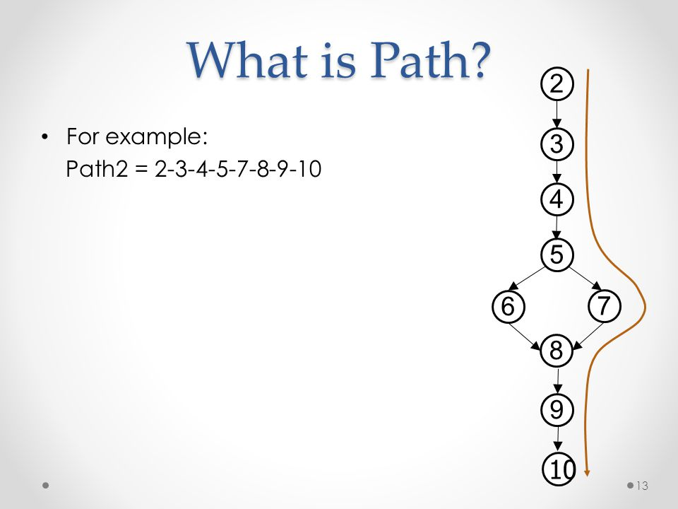 What is Path 2 3 4 5 6 7 8 9 10 For example: Path2 = 2-3-4-5-7-8-9-10