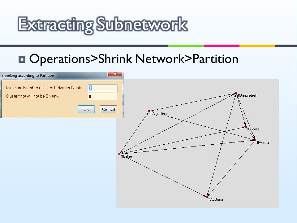 Extracting Subnetwork
