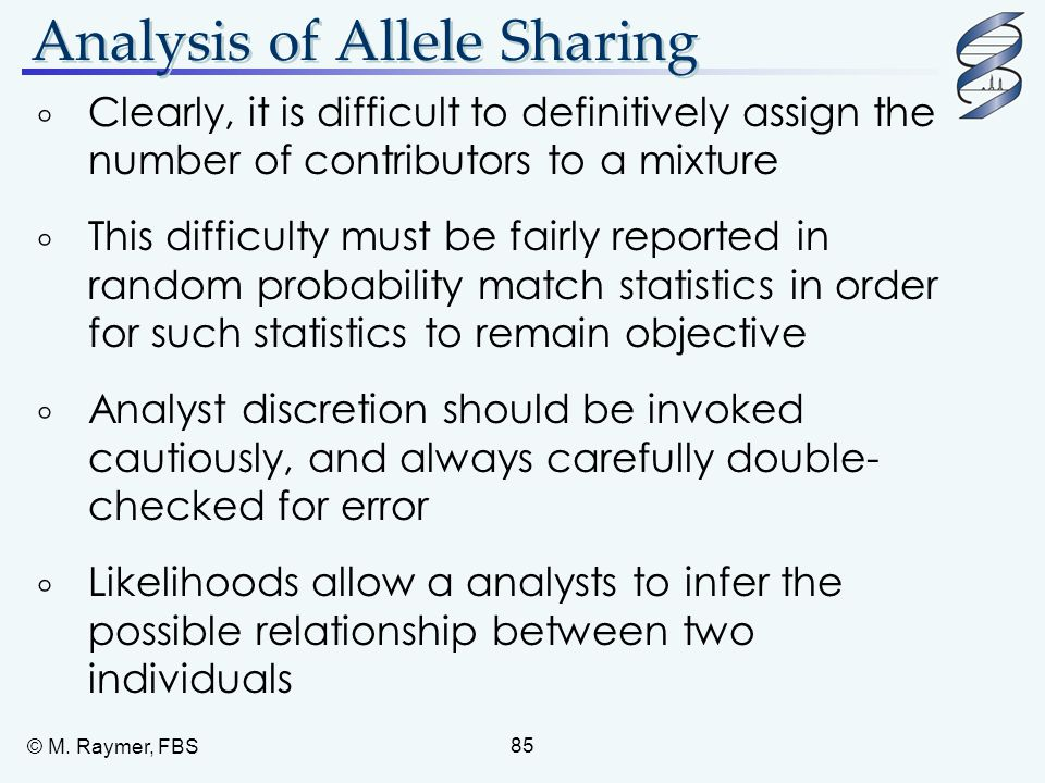 Analysis of Allele Sharing