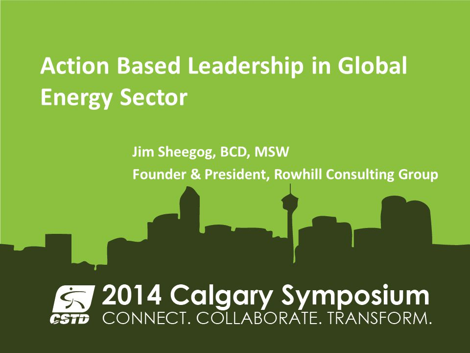 Action Based Leadership in Global Energy Sector