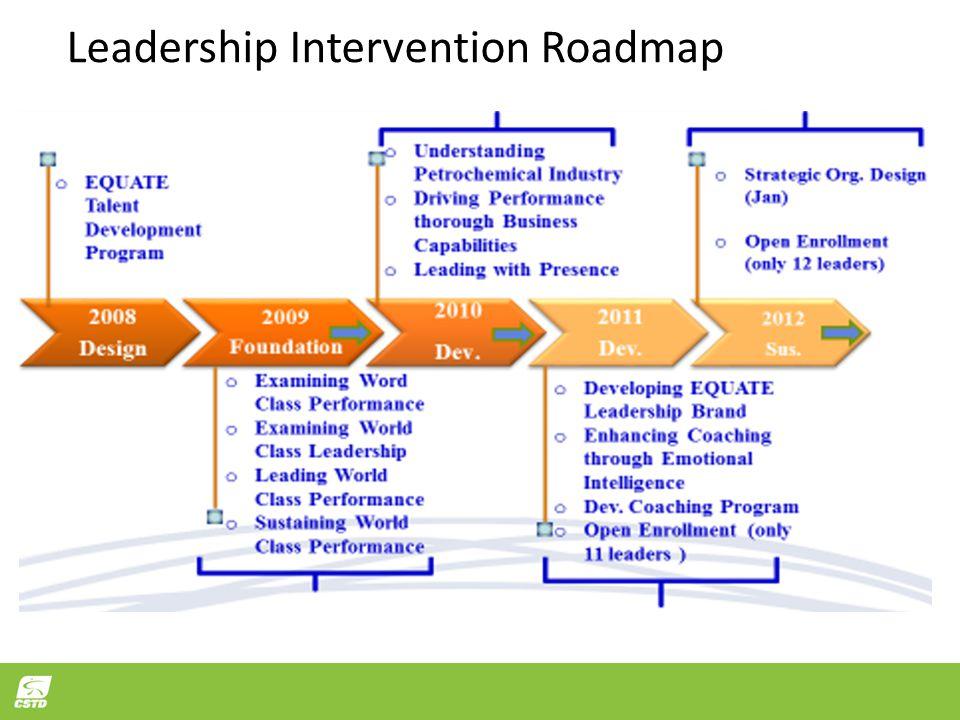 Leadership Intervention Roadmap