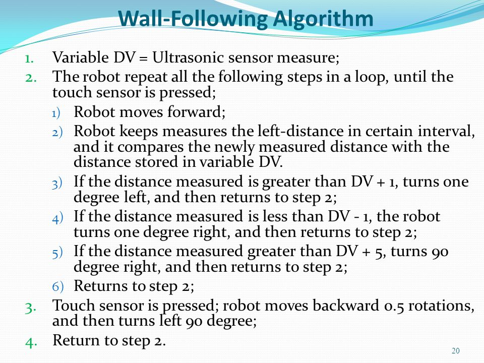 Wall-Following Algorithm