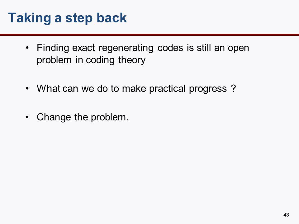 Locally Repairable Codes