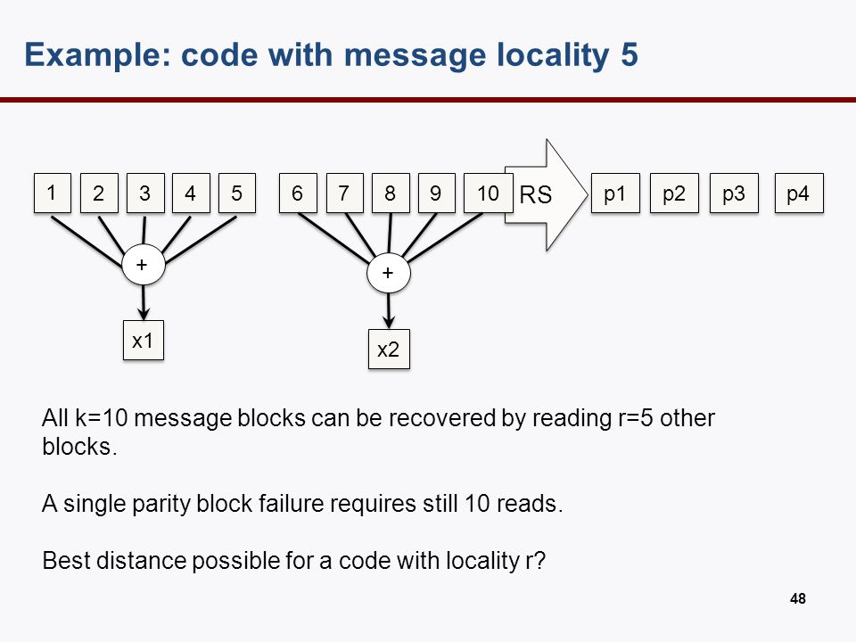 Locality-distance tradeoff