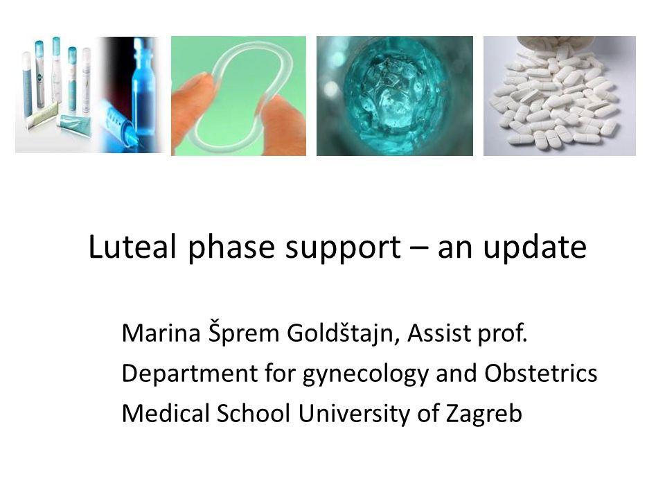Luteal phase support – an update