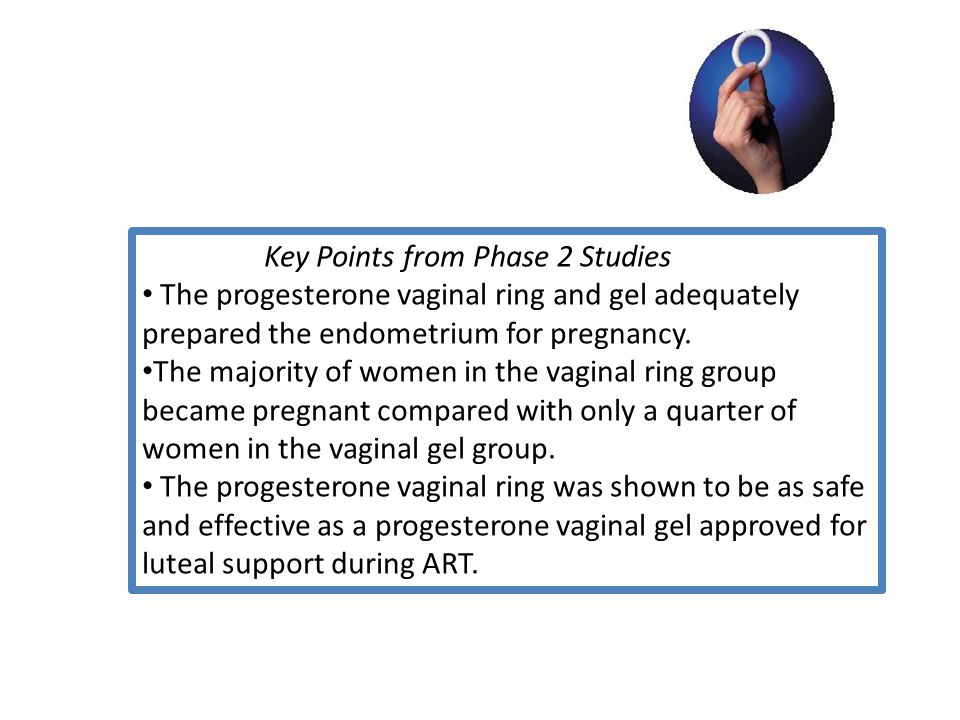 Key Points from Phase 2 Studies