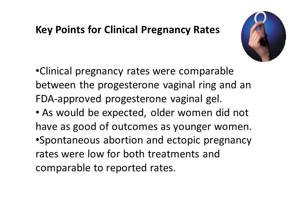 Key Points for Clinical Pregnancy Rates
