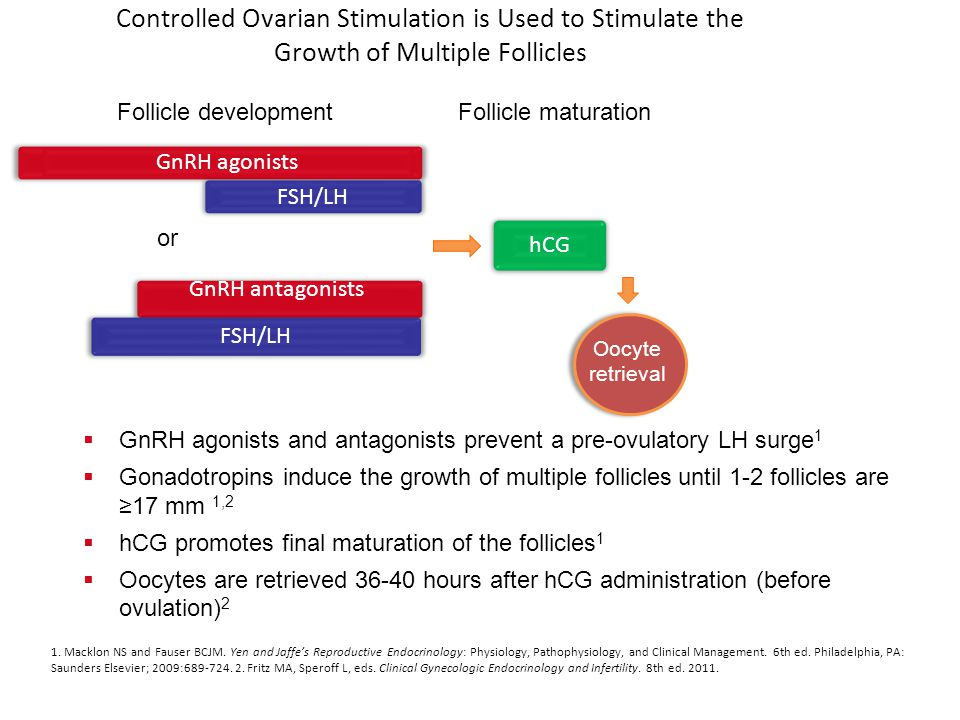 Controlled Ovarian Stimulation is Used to Stimulate the Growth of Multiple Follicles